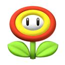 Pegatina de Flor de Fuego SSBB