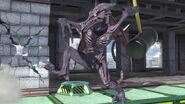 Ridley usando un martillo en Wrecking Crew SSBU