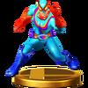Trofeo de Captain Rainbow SSB4 (Wii U)