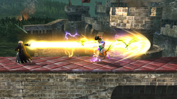 Trueno violento (5) SSB4 (Wii U)