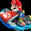 Art de Mario en Mario Kart 8