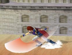 Ataque Smash hacia abajo de Roy (1) SSBM