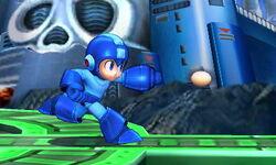 Ataque fuerte lateral de Mega Man SSB4 (3DS)