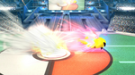 Cabezazo Empuje SSB4 (Wii U)