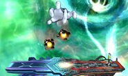 Crazy Hand Bombardeo SSB4 (3DS)