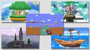 Escenarios (Contenido descargable) SSB4 (Wii U)