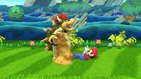 Lanzamiento hacia abajo de Bowser (1) SSB4 (Wii U)