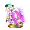 Trofeo de Agujero negro y rayo concentrado SSB4 (Wii U)