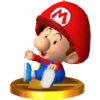 Trofeo de Bebé Mario SSB4 (3DS)