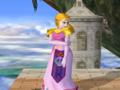 Zelda espera Pose Melee