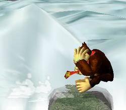 Ataque de recuperación desde el borde -100% de Donkey Kong SSBM