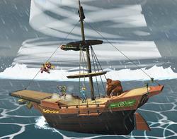 Barco Pirata (3) SSBB