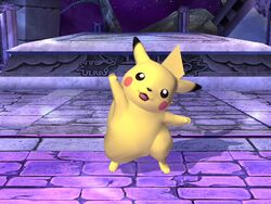 Burla lateral Pikachu SSBB