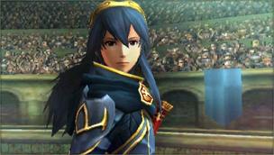 Créditos Modo Senda del guerrero Lucina SSB4 (3DS)
