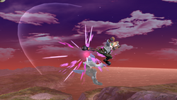 Fox Ataque Aereo hacia atras-SSBB