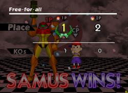 Pose de victoria de Samus (3) SSB