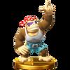 Trofeo de Funky Kong SSB4 (Wii U)