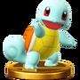 Trofeo de Squirtle SSB4 (Wii U)
