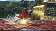 Ataque en carrera de Ike SSB4 (Wii U)