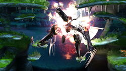 Cara Metálica Derrota SSB4 (Wii U)