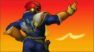 Créditos Modo Senda del guerrero Captain Falcon SSB4 (3DS)