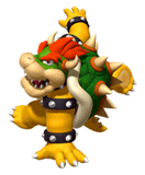Pegatina de Bowser Dancing Stage Mario Mix SSBB