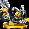 Trofeo de Wario Bike SSB4 (Wii U)