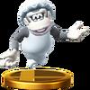 Trofeo de Wrinkly Kong SSB4 (Wii U)