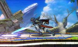 Ataque Smash hacia abajo (1) Lucina SSB4 (3DS)