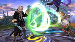 Ataque normal repetible de Robin SSB4 (Wii U)