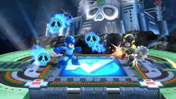 Escudo de calaveras (2) SSB4 (Wii U)