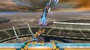 Lanzamiento superior de Captain Falcon SSB4 (Wii U)