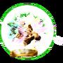 Trofeo de Golpe Trifuerza (Toon Link) SSB4 (Wii U)