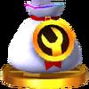 Trofeo de Piezas personalizables SSB4 (3DS)