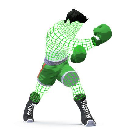 Artwork de Little Mac (Malla) SSB4