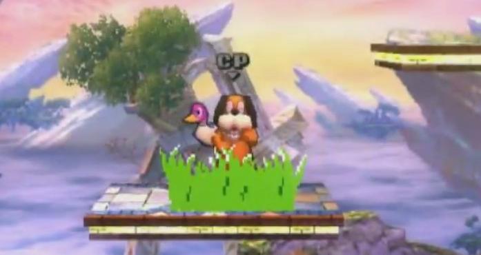 Entrada del Perro de Duck Hunt SSB4 (3DS)