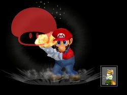 Pose de victoria Mario (5) SSBM