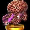 Trofeo de Cerebro de Andross SSB4 (3DS)