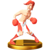 Trofeo de Glass Joe SSB4 (Wii U)