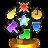 Trofeo de Potenciadores SSB4 (3DS)