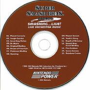 CD Smashing Live (Nintendo Power)
