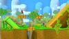 Captain Falcon, Sheik y Shulk en Isla de Yoshi (SSBM) SSB4 (Wii U)