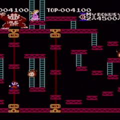 <i>Donkey Kong</i> como un clásico en <i>Super Smash Bros. Brawl</i>.