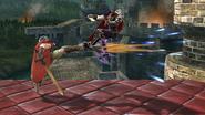 Lanzamiento delantero de Ike SSB4 (Wii U)