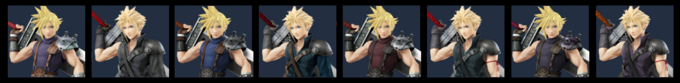 Paleta de colores de Cloud (SSB4)