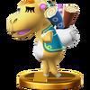 Trofeo de Alcatifa SSB4 (Wii U)