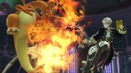 Charizard y Daraen en la Liga Pokémon SSB4 (Wii U)