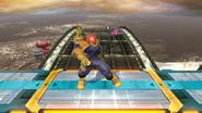 Pose de espera de Captain Falcon (1-1) SSB4 (Wii U)