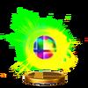 Trofeo de Bola Smash SSB4 (Wii U)