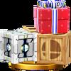 Trofeo de Cajas SSB4 (Wii U)